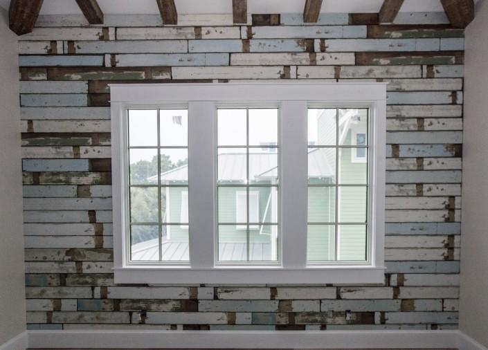 Beachhouse Flooring Accent Wall