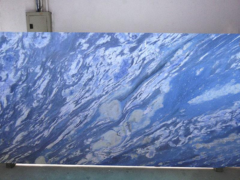 Blue Marble Slab : Blue planet marble emerald coast fabrication