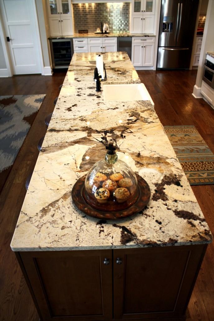 custom kitchen  savannah granite  u2013 emerald coast fabrication