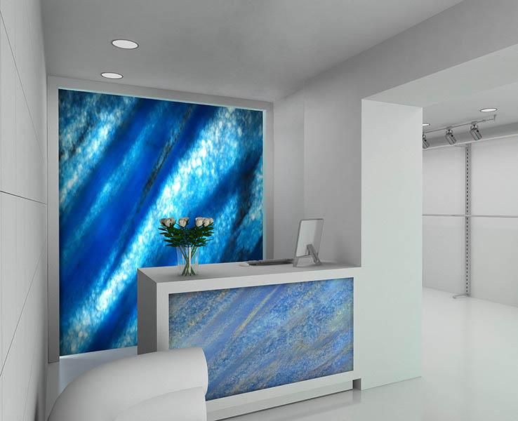 Crystal Onyx Soft Blue Emerald Coast Fabrication