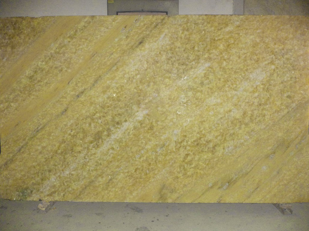 Yellow Onyx Slab For Lapidary : Crystal onyx yellow emerald coast fabrication